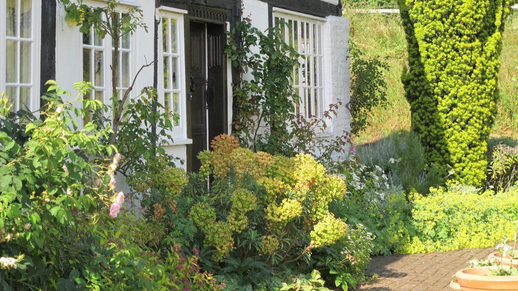 Heron Manor front garden